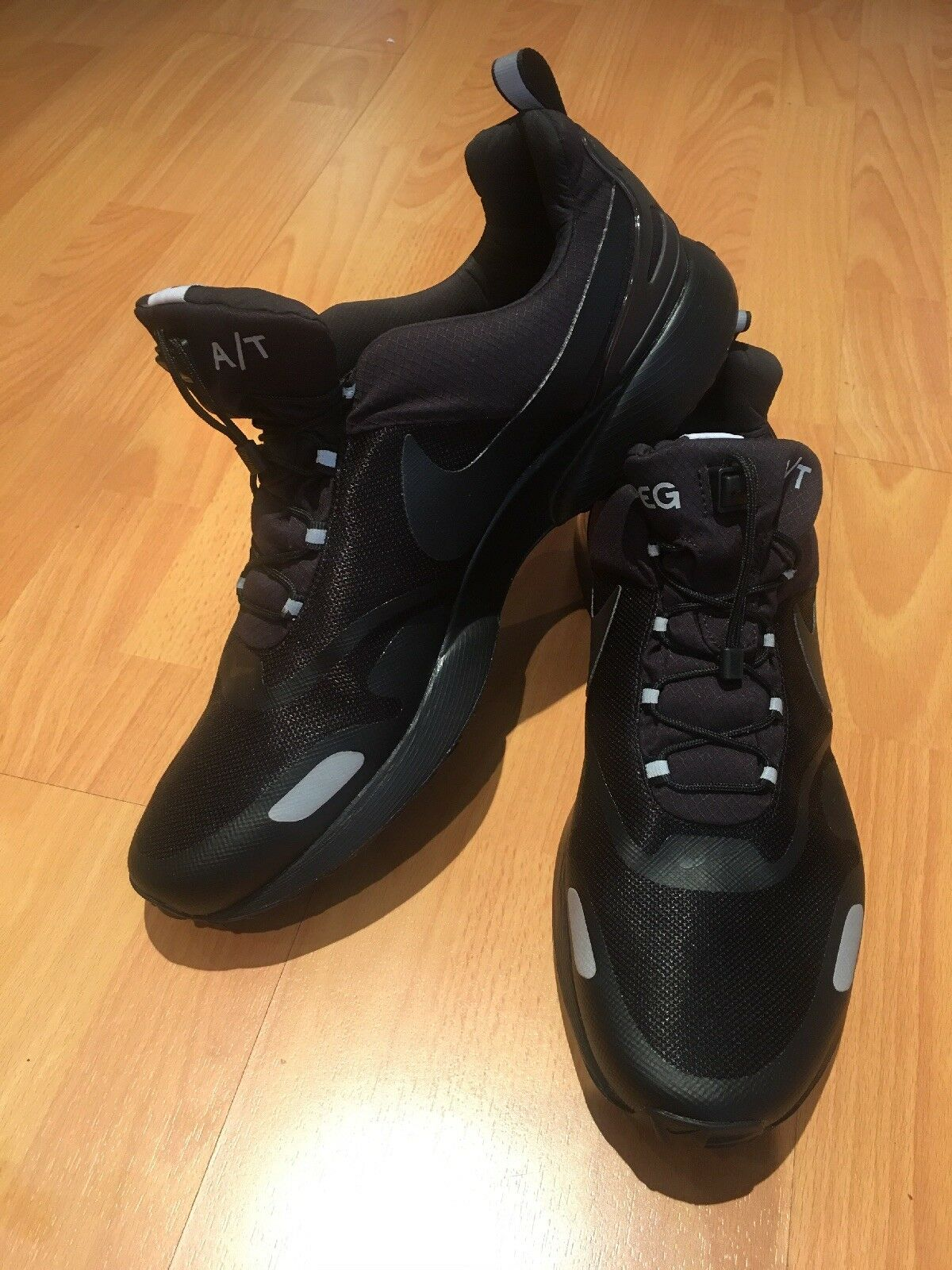 Nike Air Pegasus A T Winter 924497-001 Black Wolf Grey Men's shoes Sz 14