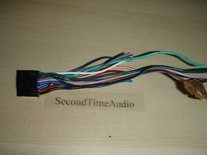 s l300 original oem jvc kd avx1 wire harness tested good guaranteed! ebay  at webbmarketing.co