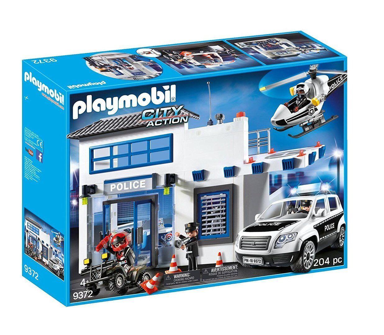 Playmobil 9372 - City Action - Policía  Mega Set - NUEVO