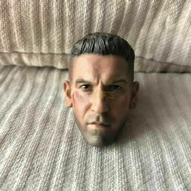 Custom 1//6 Scale Jon Bernthal Punisher Frank Castle Head Sculpt