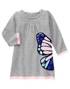 7f830589ca4 NWT Gymboree Butterfly Garden 18-24M 2T 4T 5T Butterfly Sweater ...