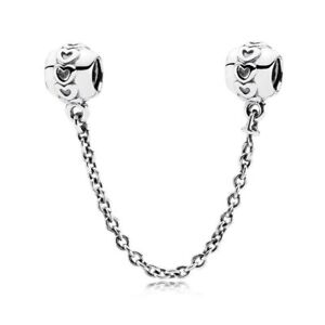 c6477acba Image is loading New-Authentic-Genuine-Pandora-Silver-Charm-Love-connection-