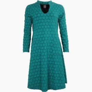 Jersey Kleid Pont Neuf Gr. XL = 48 Strickkleid Nina petrol ...