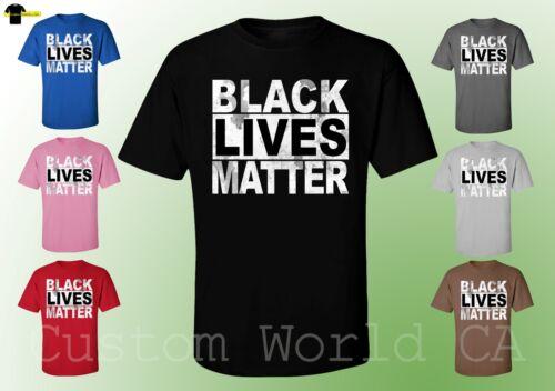 Civil Rights Tees Fashion Clothes BLACK LIVES MATTER Unisex T-Shirts
