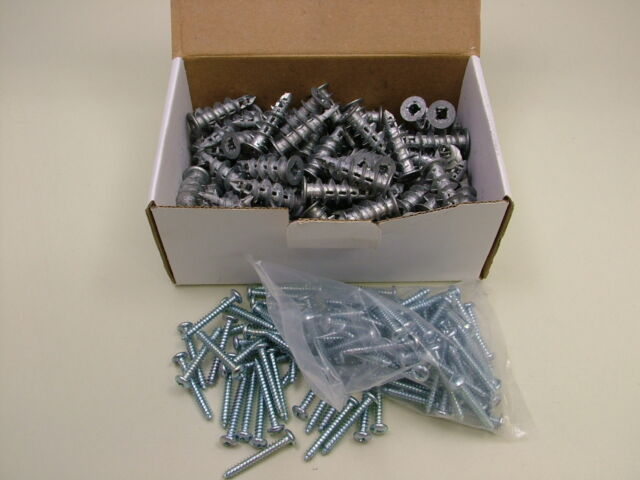 Plasterboard cavity wall driva fixings speed plugs pack of 100 including screws