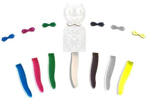 Kit-Cat klock Horloge Remplacement queue et nœud papillon-Queue noire blanc nœud papillon