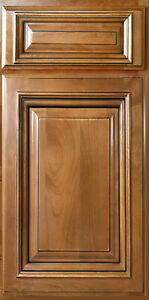 New York Glazed Maple Kitchen Cabinets Sample Door Rta All Wood In Stock Ebay