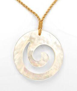 Hand carved hawaiian infinity sacred spiral pendant ebay image is loading hand carved hawaiian infinity sacred spiral pendant aloadofball Image collections
