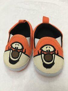 d1f3533cf4b Image is loading Disney-Tigger-Baby-Crib-Shoes-3-6m