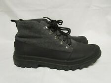 f47f31ac071 Toms Mens Black Wool With Leather Cordova 10007036 BOOTS Size 10.5 M ...