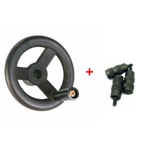 3 × Reverse Knob us Ship Bridgeport Milling Machine Parts,1 × Feed Hand Wheel