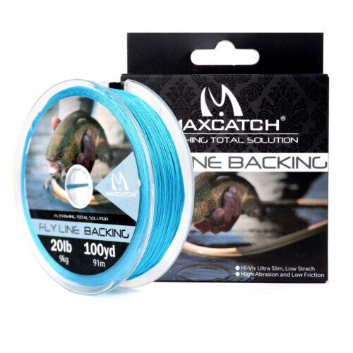 Maxcatch Backing Fliegenvorfach 20//30LB 50-300yds Angelschnur