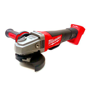 """Milwaukee Cordless 18V Fuel Brushless 125mm 5"""" Angle Grinder M18CAG125XPD-0"""