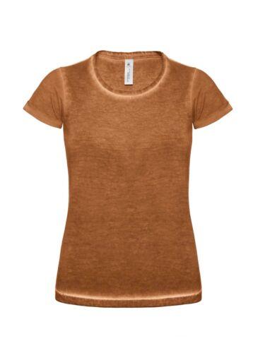 XS-XL B/&C DNM Plug In Women T-Shirt Damen Kurzarm Rundhals T-Shirt