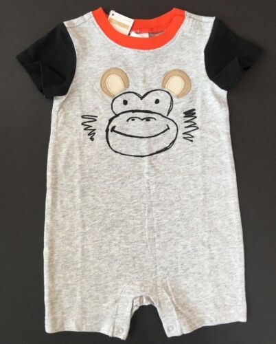 Gymboree Baby Boys Monkey One Piece 12 18 Months NWT NEW