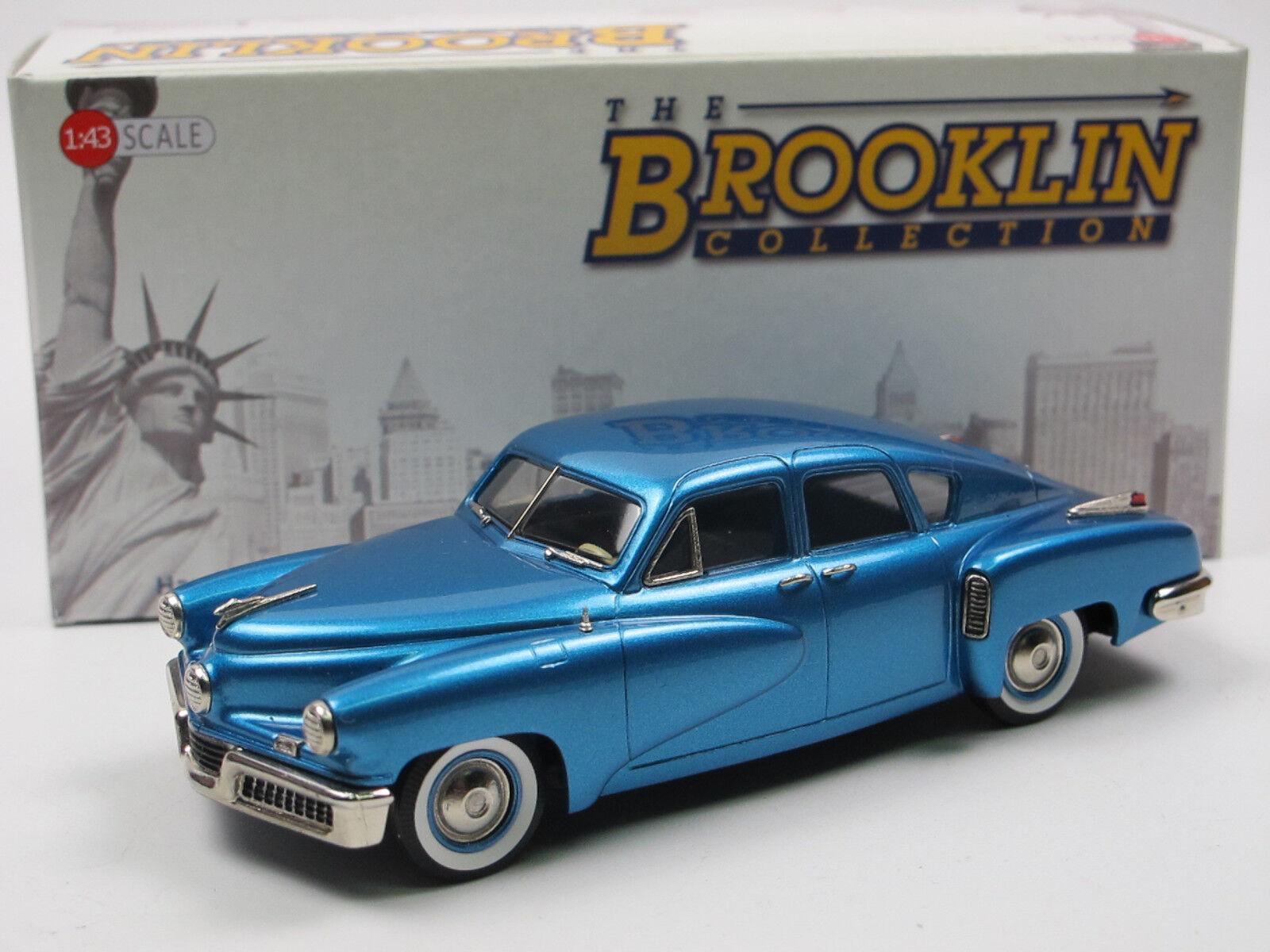 Brooklin models BRK 222c - 1948 Tucker 48 torpedo Waltz azul código 200 1 43