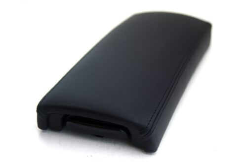 Center Console Armrest Real Leather Cover for Toyota Prius 04-09 Black