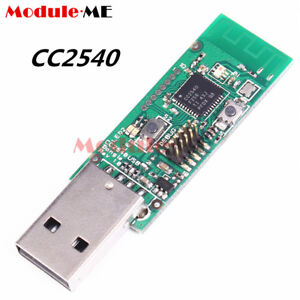 Bluetooth-4-0-2-4GHz-BLE-CC2540-Sniffer-Board-USB-Interface-Dongle-btool-Packet