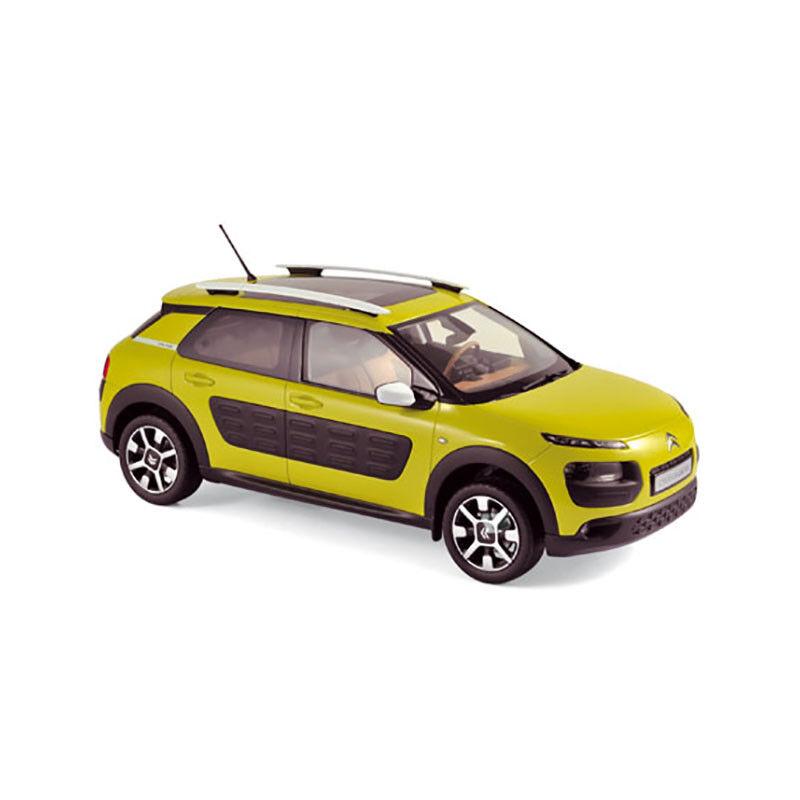 Norev 181650 Citroen C4 Cactus Yellow 2014 Scale 1 18 MODEL CAR NEW  °