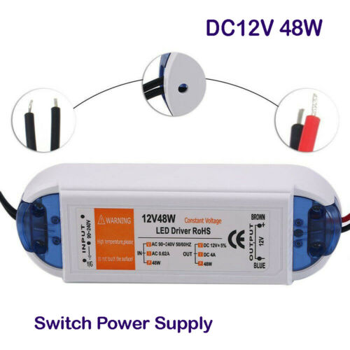 DC 12V 18//28//48//72//100W Netzadapter Netzteil LED Trafo Transformator Treiber