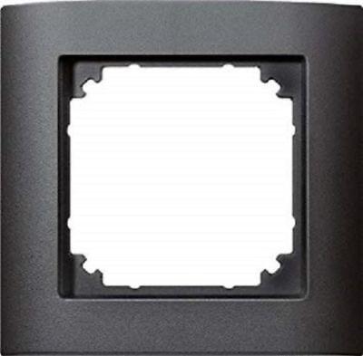 anthrazit 1-Fach Rahmen 485114 NEU M-ARC Merten System-M