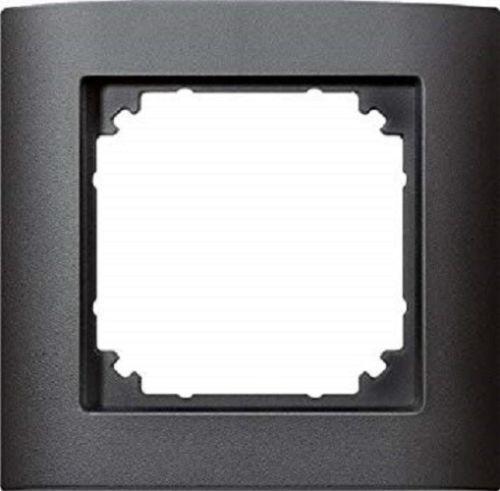 Merten 485114 M-ARC 1fach Rahmen anthrazit 1-Fach Abdeckrahmen System-M