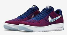 Nike Air Force 1 Low Ultra Flyknit (SZ 9) Olympic USA Red Blue White 826577-601