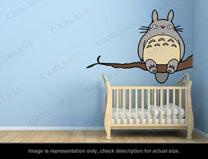 Delightful Image Is Loading Ghibli Totoro Tree Wall Art Applique Sticker