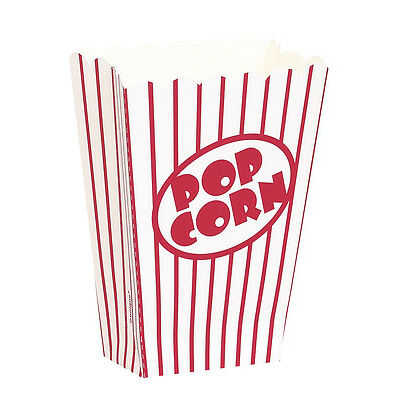 96 x SMALL POPCORN BOXES - PARTY, CINEMA, HOLLYWOOD with FREE DELIVERY