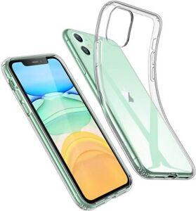 Coque TPU Silicone transparent Housse de protection iPhone 11/Pro/XS Max/XR/X/XS