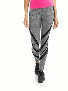Dunlop-Women-039-s-Active-Shadow-Mesh-Insert-Performance-Leggings-S-Free-Ship-NWT