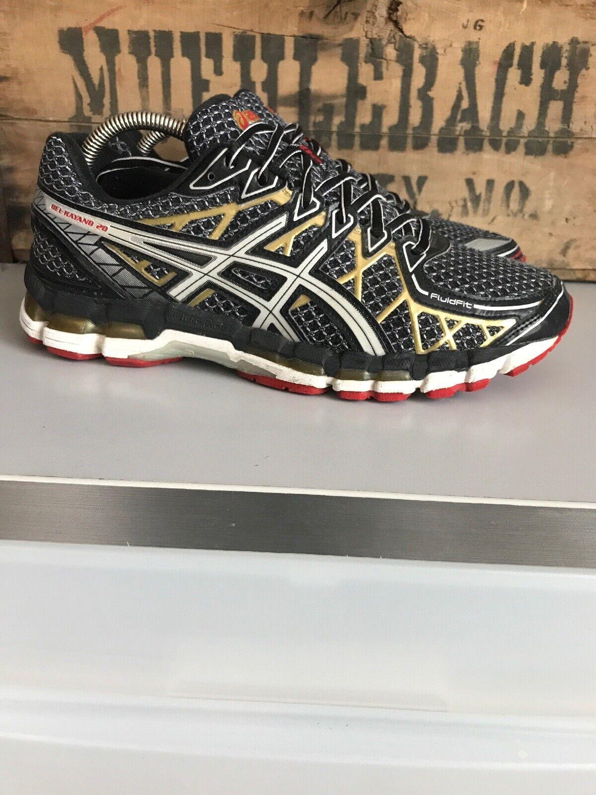 ASICS Gel Kayano 20 Anniversary Zapatillas Para Correr Para hombres T3N4N Negro oro