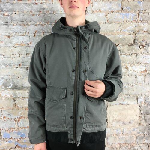 Workwear Giacca cappotto New Volcom invernale Grigio Black Brand S In Taglia drtBqrx