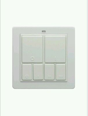 LightwaveRF Master Wall Switch JSJSLW101 White BNIP NEW Siemens Special Price