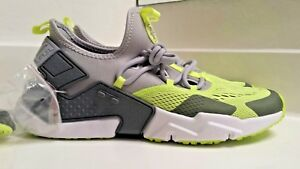 b52ae5dfc7117 Image is loading Nike-Huarache-Drift-Running-Shoes-In-Gray-Volt-