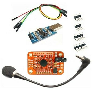 Voice Recognition Module Kit -Arduino Compatible