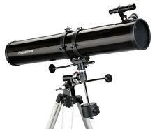 Celestron PowerSeeker 114EQ Reflector Telescope Up To 675x Power inc Barlow Lens