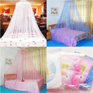 Round-Lace-Insect-Bed-Canopy-Netting-Curtain-Outdoor-Hang-Dome-Mosquito-Nets
