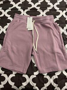 John Elliott Crimson Shorts Acai Size 3 (Large) Brand New
