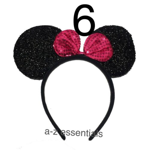 Hen Night /& Kids Parties Minnie//Mickey Mouse Big Ears Hairband For Fancy Dress
