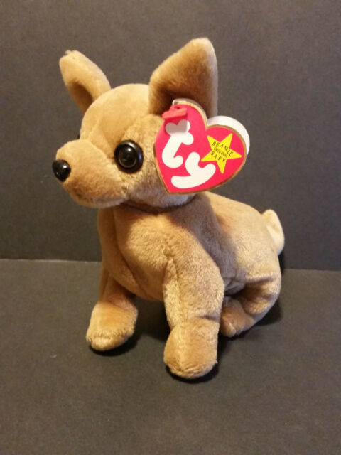 05073118a51 TY Beanie Babies Tiny The Chihuahua Dog for sale online