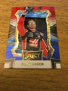 Kurt-Busch-2017-Select-Red-White-amp-Blue-Pulsar-Prizms-17-167-299