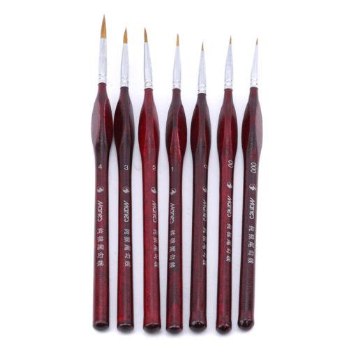 Fine Detailing /& Art Detail Paint Brush Set Miniature Art Brushes Z