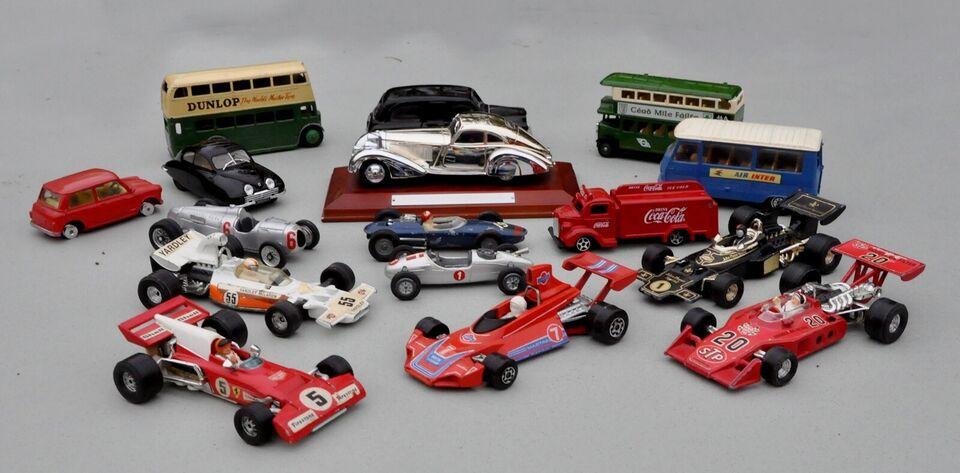 Modelbil, Diverse 16 forskellige