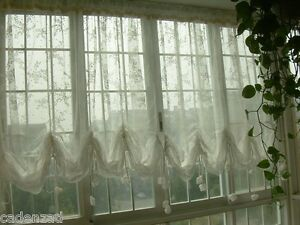Image Is Loading Fairy Tale Shabby Chic White Lace Pull Up