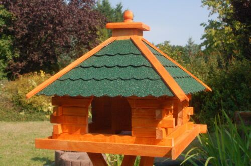 Bird House Feeder House Paint Roof Solar and Stand Selectable V20