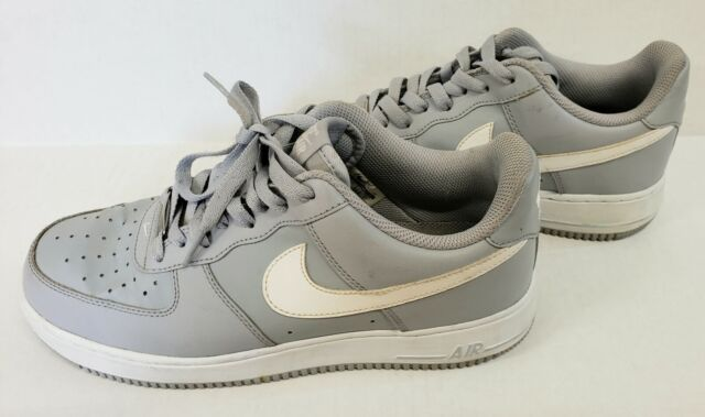 Nike 820266-004 Air Force 1 Size 10 Mens Basketball Shoes - Wolf Grey