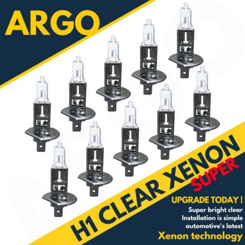 H1 100w Bright Xenon Halogen Clear 488 Headlight Fog Lamps Hid Light Bulbs 12v