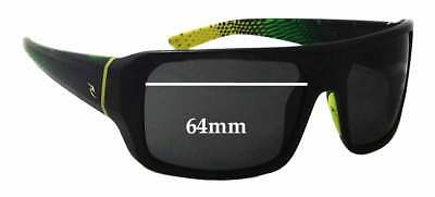 SFX Replacement Sunglass Lenses fits Rip Curl Bells 61mm Wide