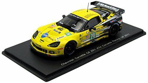 Chevrolet corvette c6 zr1  74  lm 2011 1 43 model s2542 spark model  mode classique